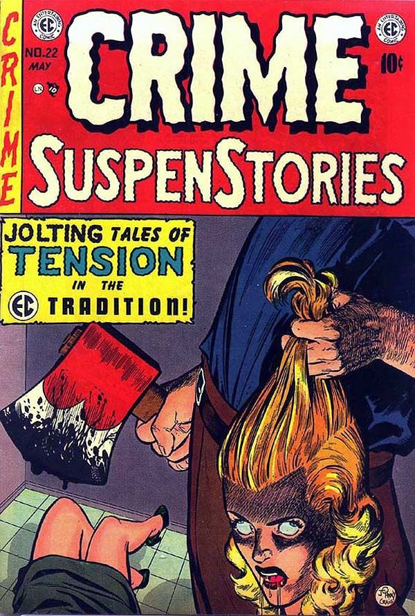 Crime SuspenStories #22 cover
