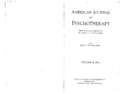 Proceedings of the Association for the Advancement of Psychotherapy: The Psychopathology of Comic Books